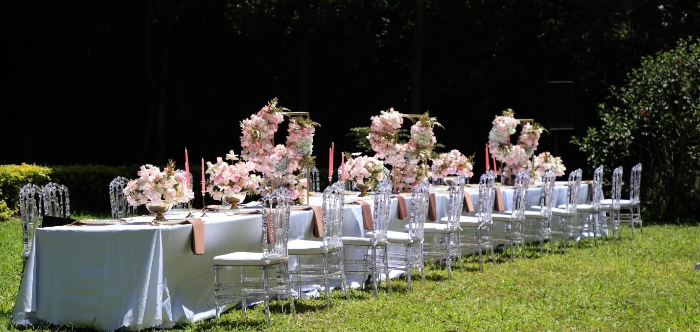 Blush Intimate Garden Wedding